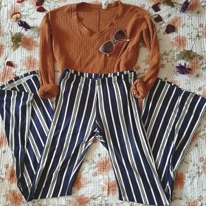 Funky Striped Pants